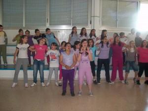 """A.s. 2009/2010: """"Il Coro Rodari""""."""