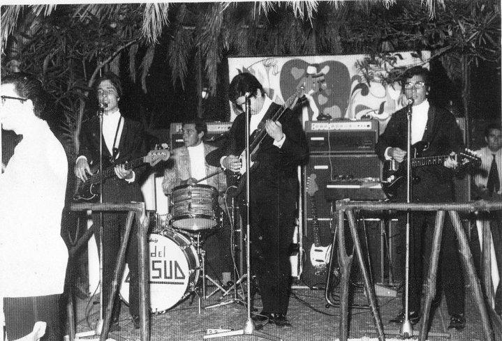 La prima formazione: Vito Mancini, Mimmo Carrino, Nino D'Asti, Walter Nicotera