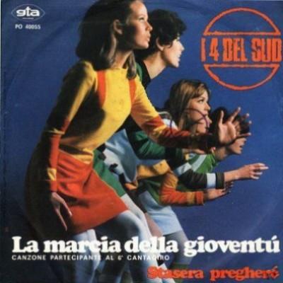 La copertina del vinile del Cantagiro  1967